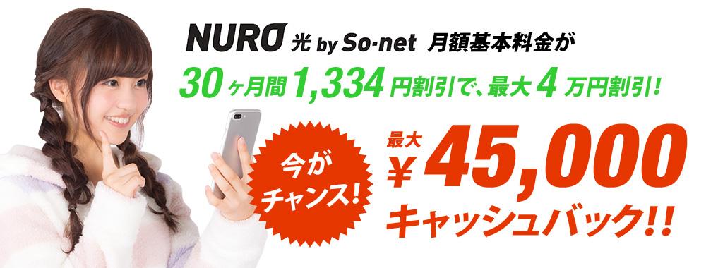 最大55,000円キャッシュバック